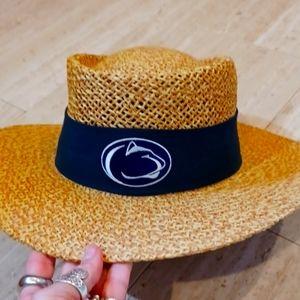 NWT Logofit Penn State Straw Hat